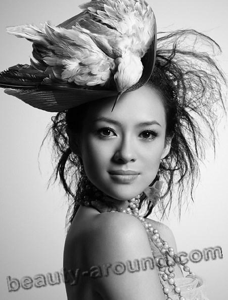 Китайская актриса Чжан Цзыи в фильме биографии фото