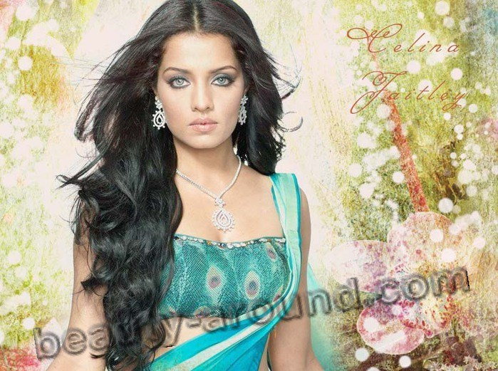 Celina Jaitley indian actress of Afghan origin photo