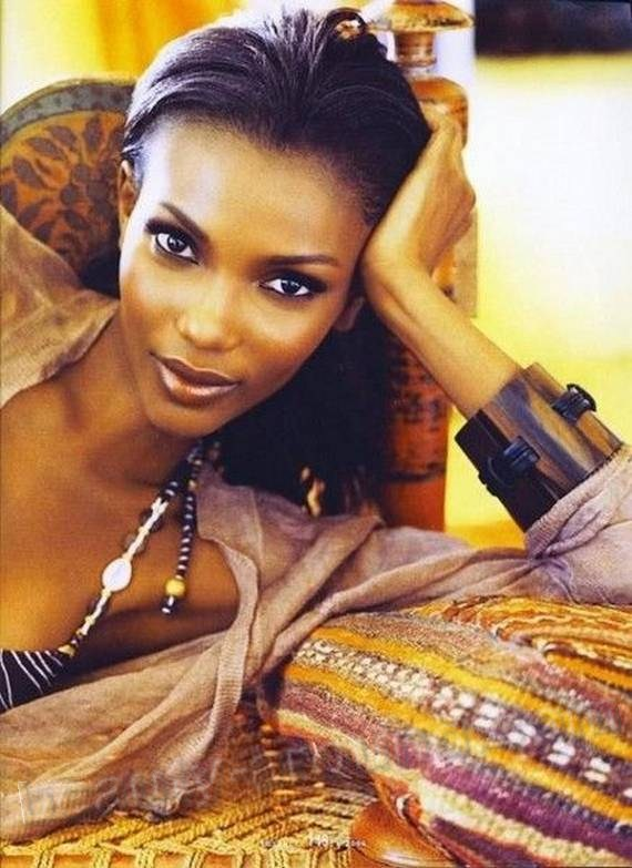 Agbani Darego африканская beautiful african women photos