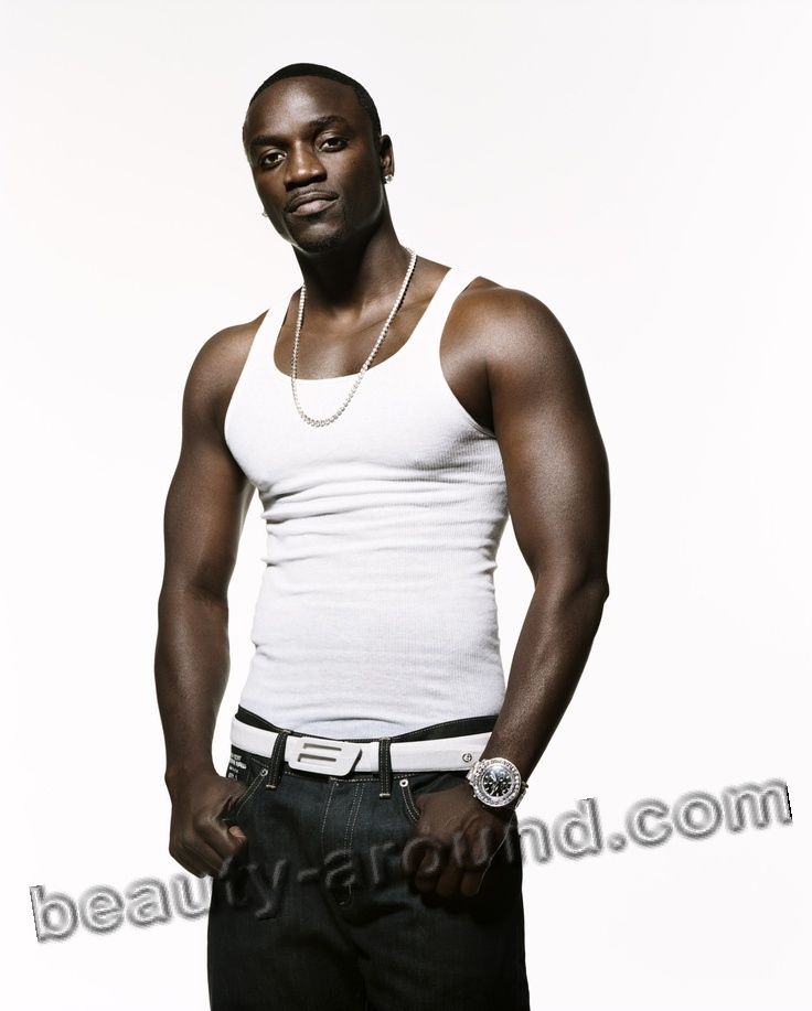 Akon handsome African rapper photo