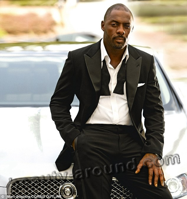Idris Elba handsome African English actor photo