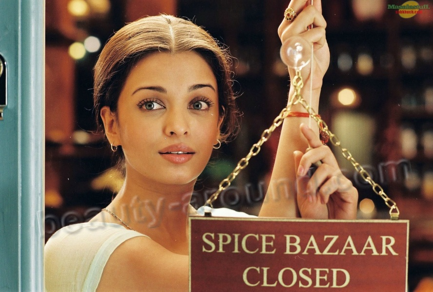 Aishwarya Rai in the film The Princess of spices