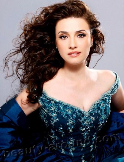 Beautiful Albanian Women. Ermonela Jaho Albanian opera singer, soprano