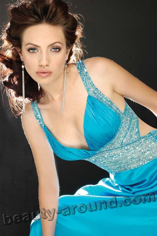 Beautiful Albanian Women. Eralda Hitaj professional Albanian model, Miss Albania Universe 2006