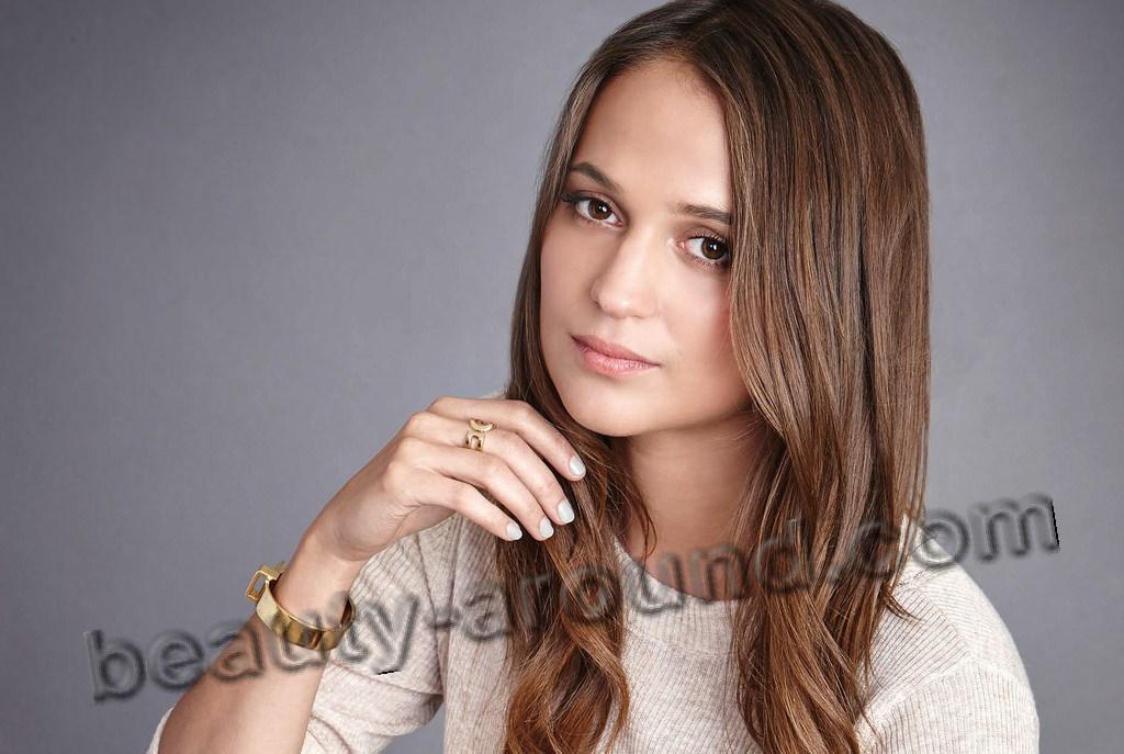 Алисия Викандер красивые глаза фото