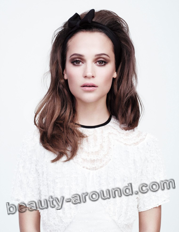 Алисия Викандер красивый макияж фото