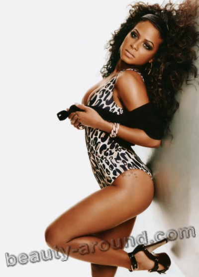 Christina Milian famous American singer photo