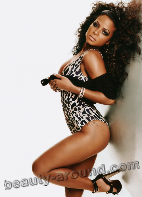 Sexiest Black Woman Christina Milian photo