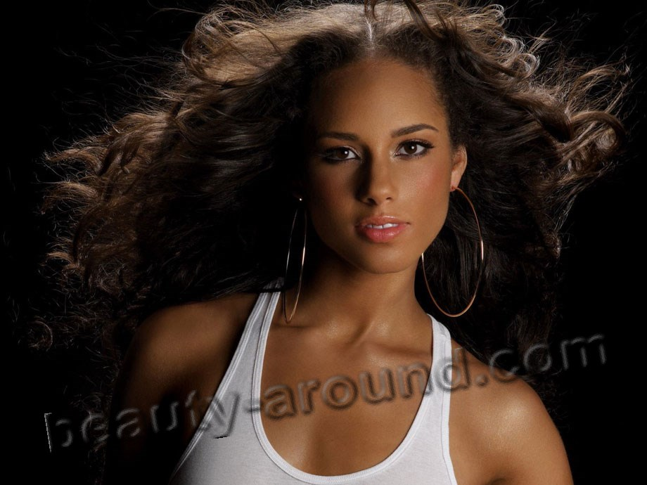 Alicia Keys most beautiful American singer photo