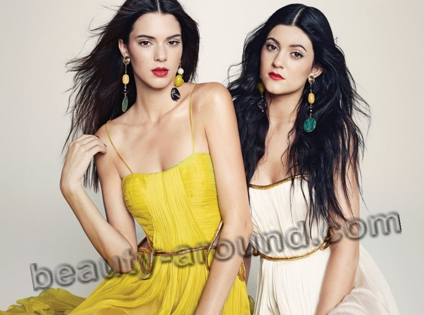 Kendall and Kylie Jenner photos