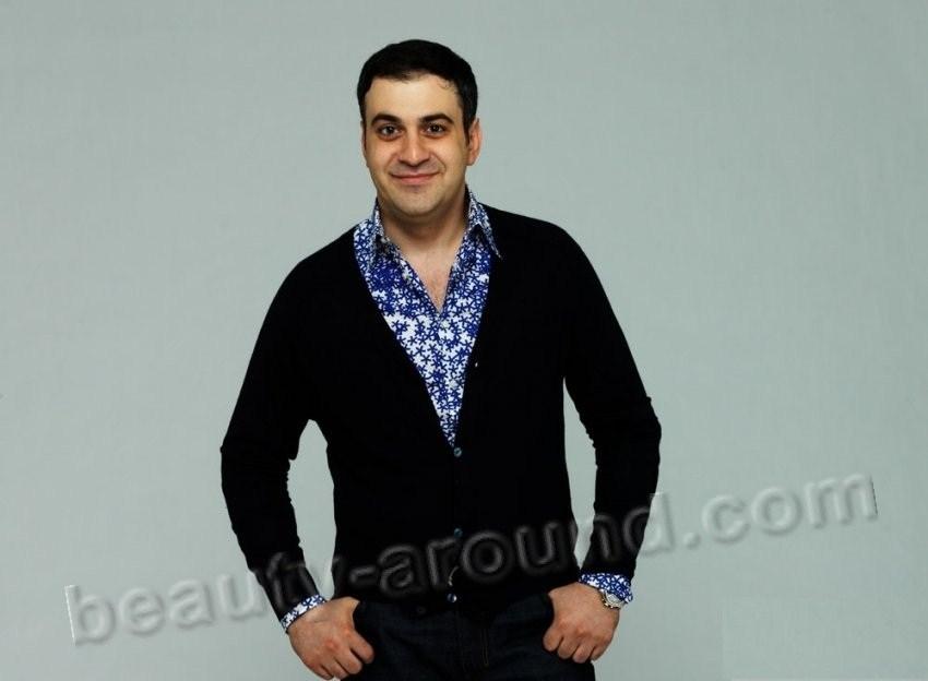 Garik Martirosyan Russian showman, humorist and television personality