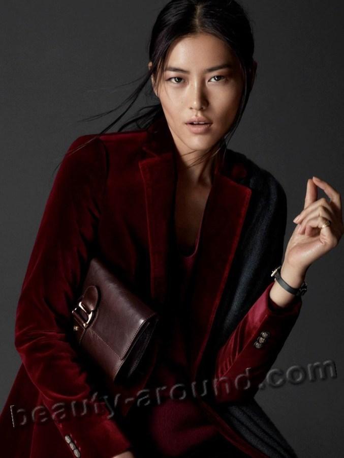 Beautiful Asian Models Liu Wen beautiful Chinese supermodel photo