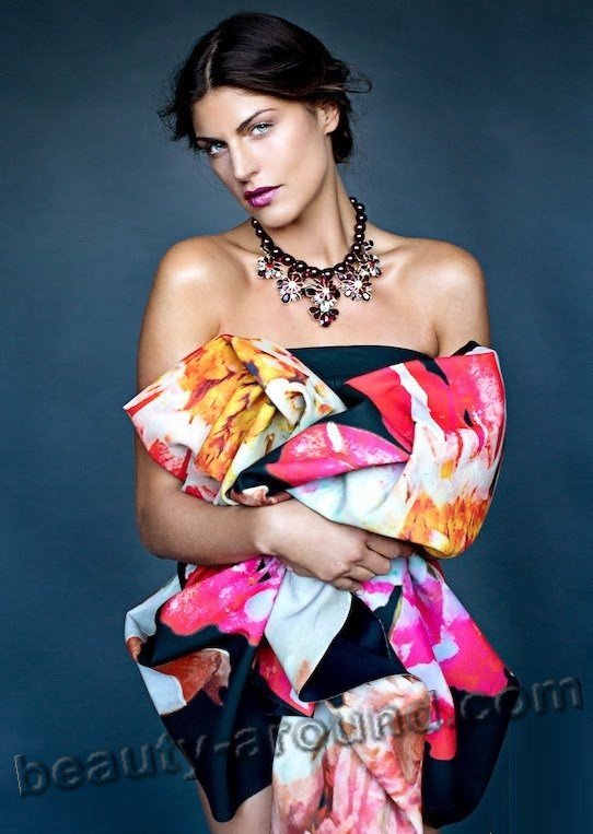 Anna Huber cute Austrian model photo