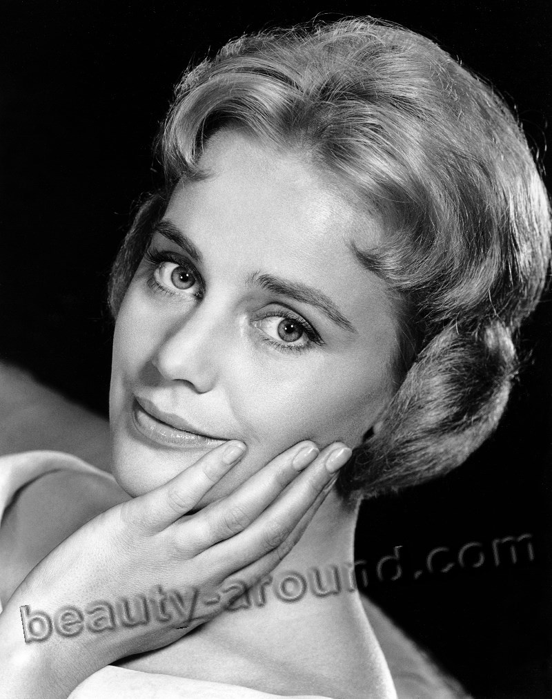 Beautiful Austrian Women Maria Schell most beautiful Austrian actress photo