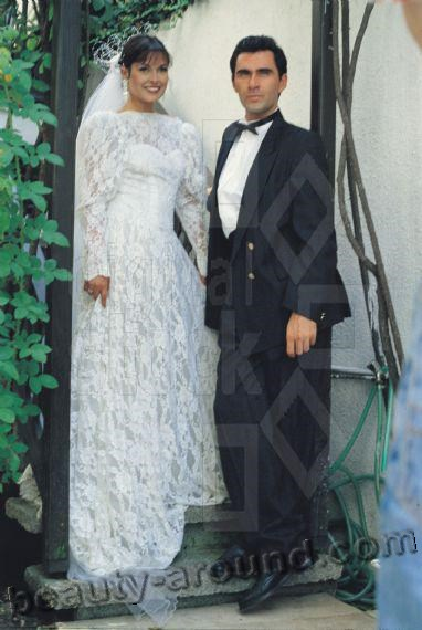 фото Айдан Шенер с мужем