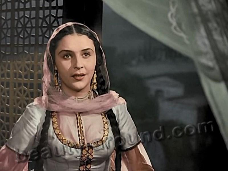 Лейла Бадирбейли красивая азербайджанская актриса фото