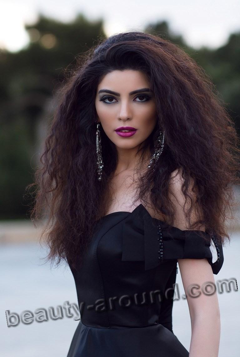 Seher Akper красивая азербайджанская модель фото
