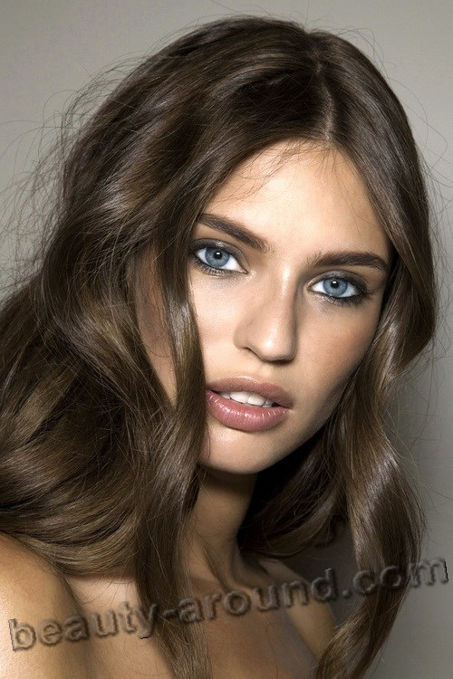 Beautiful Azeri Women Bianca Balti  Italian model with Azerbaijani roots