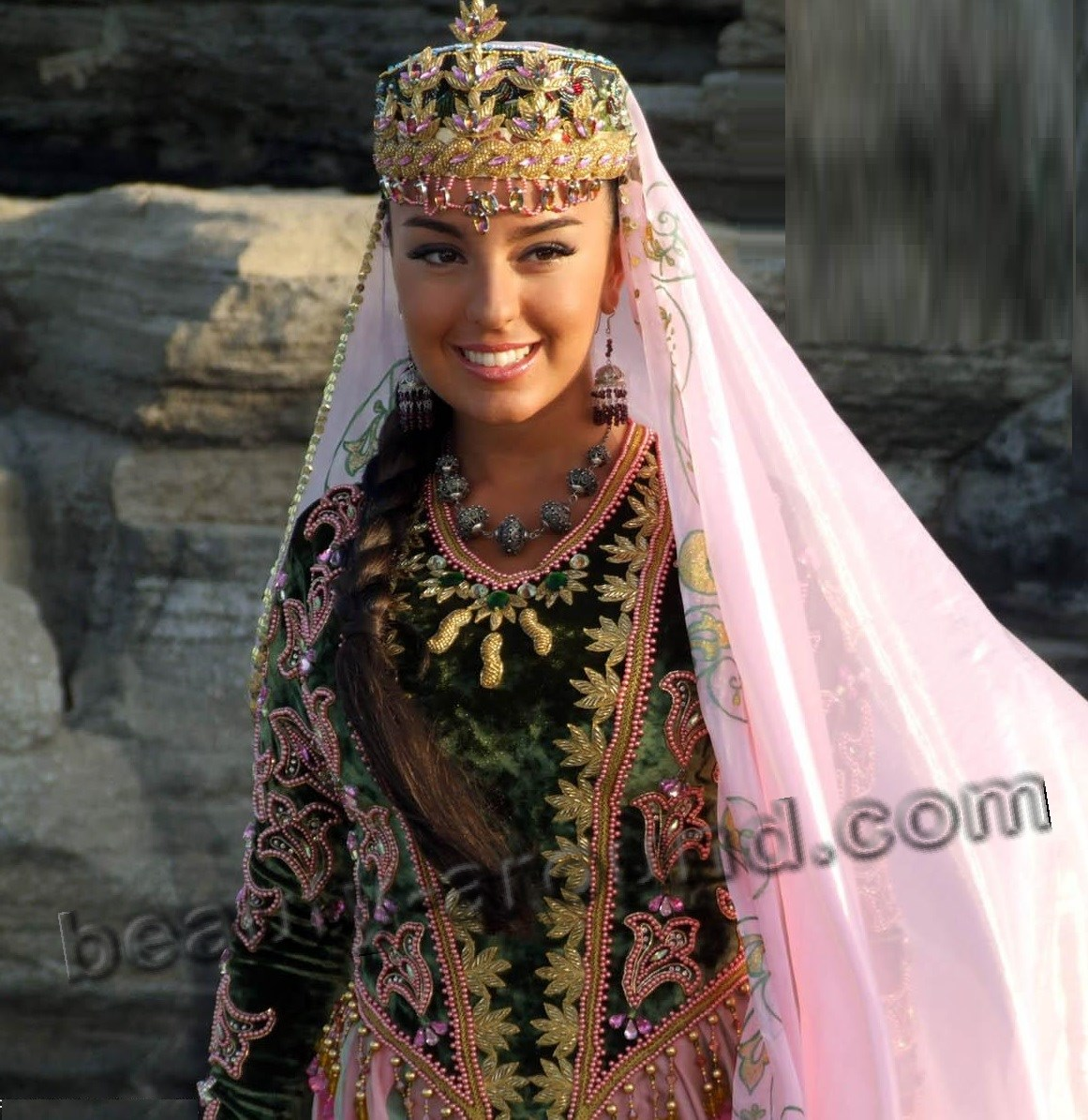 Beautiful girls of Azerbaijan