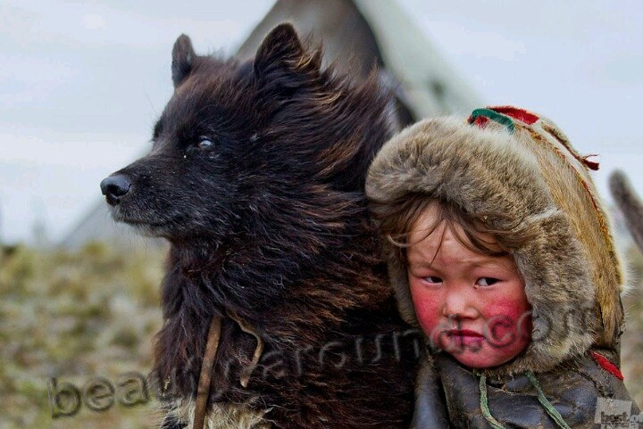Eskimo boy picture