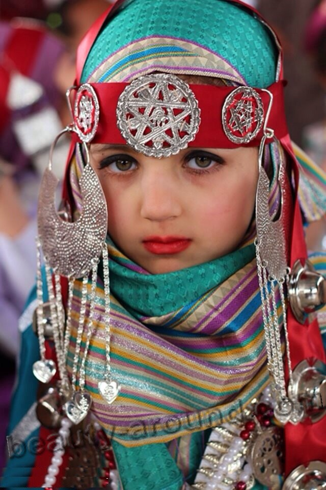 Libyan girl photo