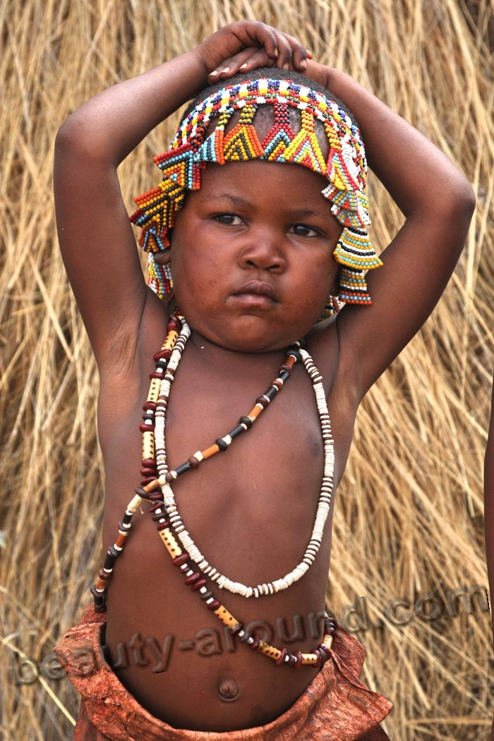 Botswana girl photo