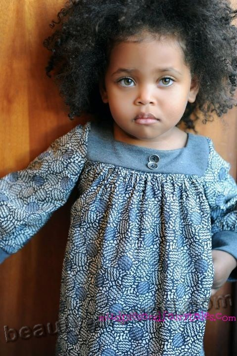 African-American baby girl photo