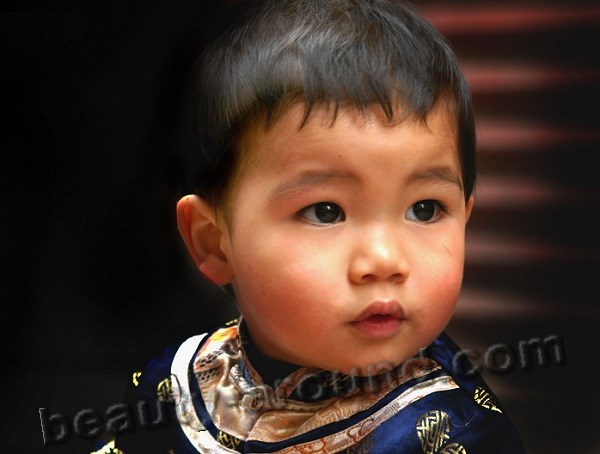 Chinese baby boy picture