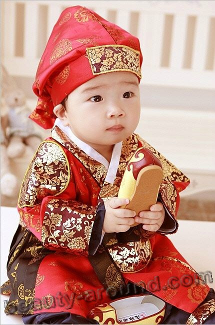 Korean child boy picture