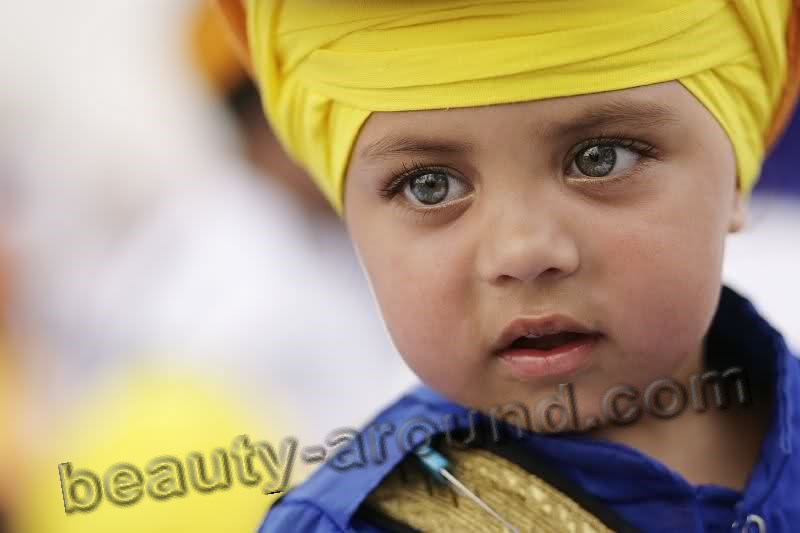 Handsome Indian boy (Sikh) photo