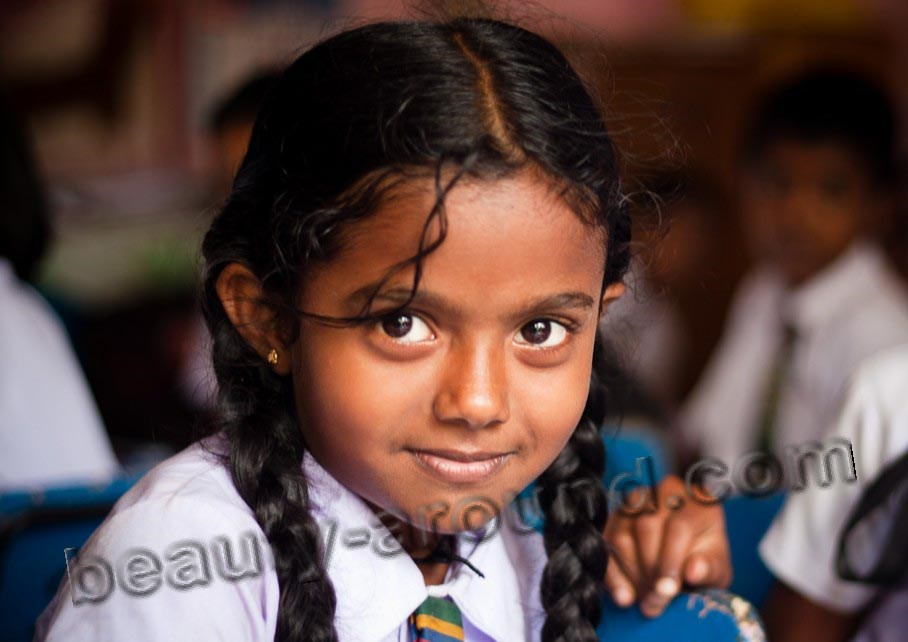 Sri Lankan girl picture