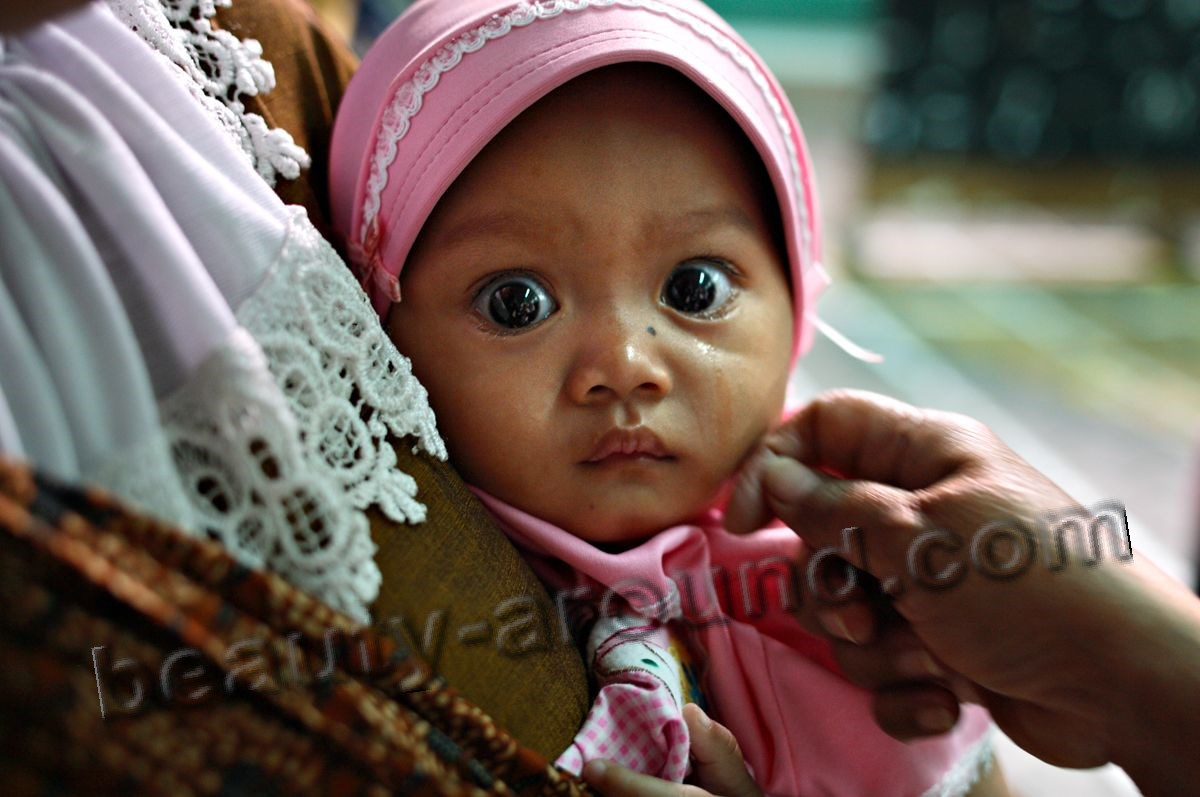 Indonesian child girl photo