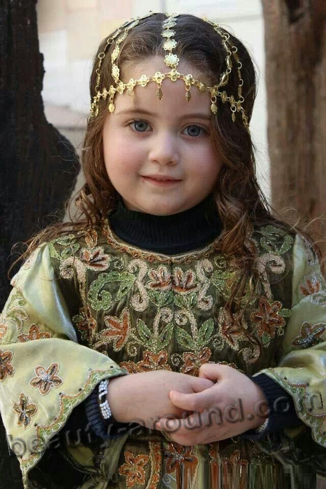Nice Palestinian baby girl photo