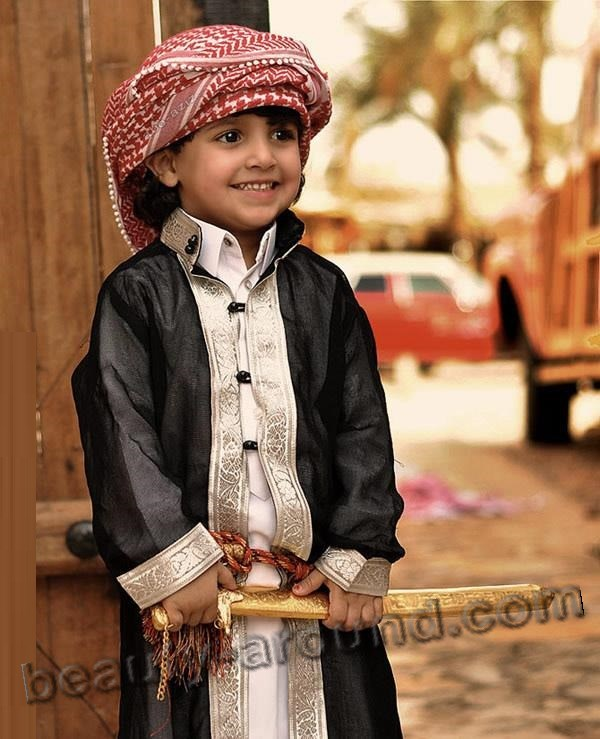 Cute Baby Boy from Saudi Arabia photo
