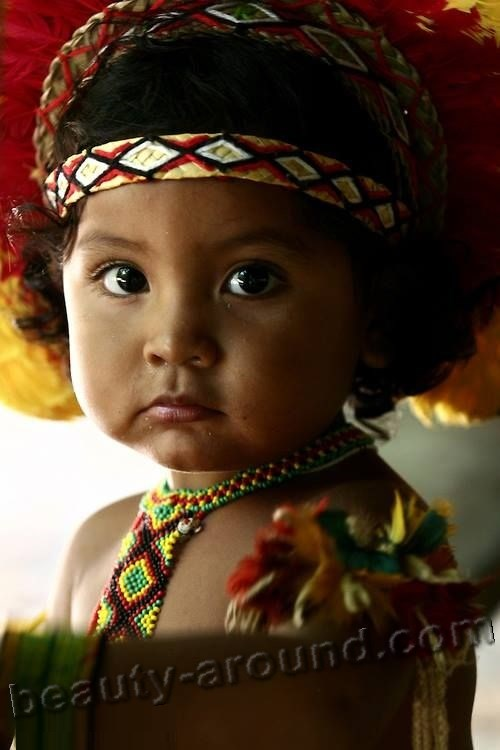 cute Brazilian baby girl photo
