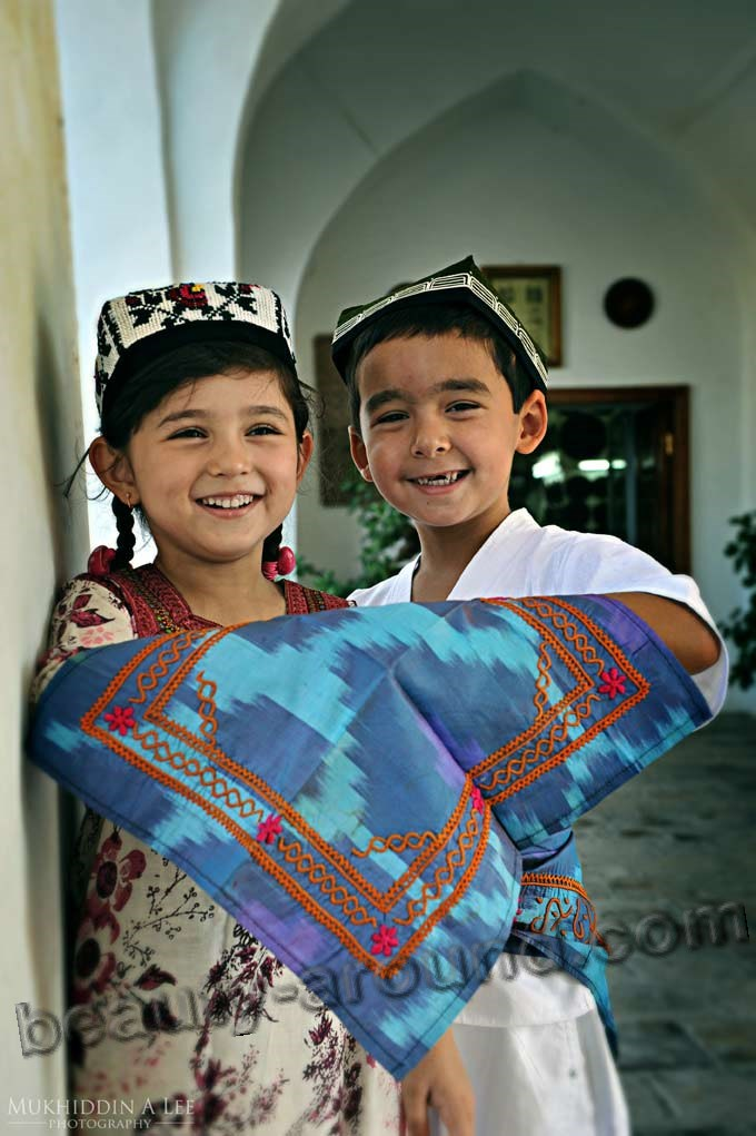 Uzbek children photo