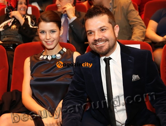 Beren Saat and Turkish pop-singer Kenan Dogulu
