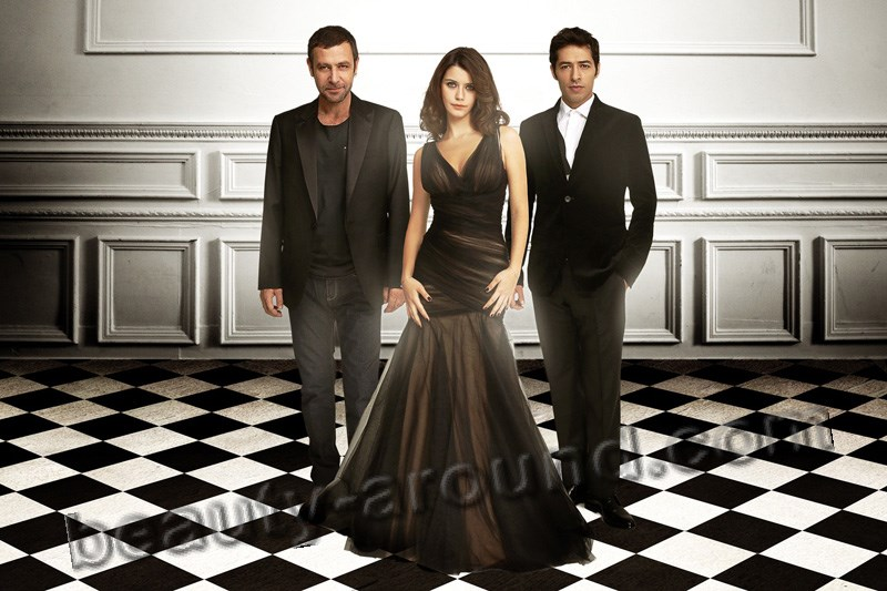 Turkish TV series Revenge / Intikam Beren Saat and Mert Firat