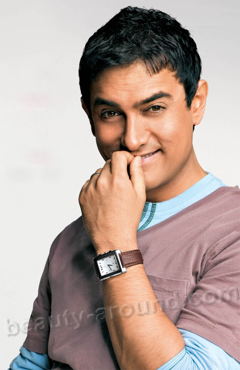 Aamir Khan handsome bollywood actor