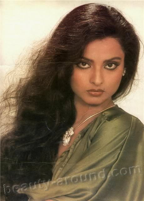 Rekha beautiful Indian actress of Hini films photo