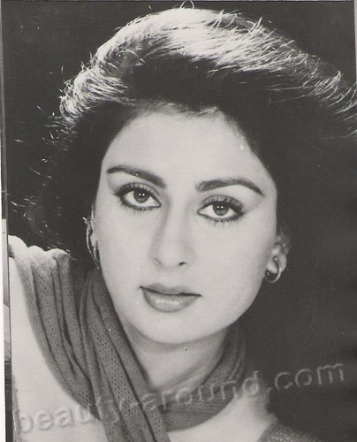 Beautiful Indian Actresses Poonam Dhillon, Femina Miss India photo
