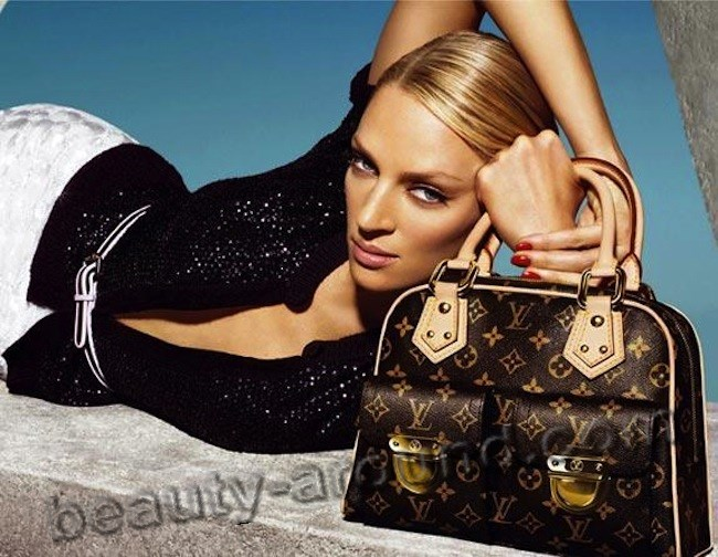 Louis Vuitton present Uma Thurman photo