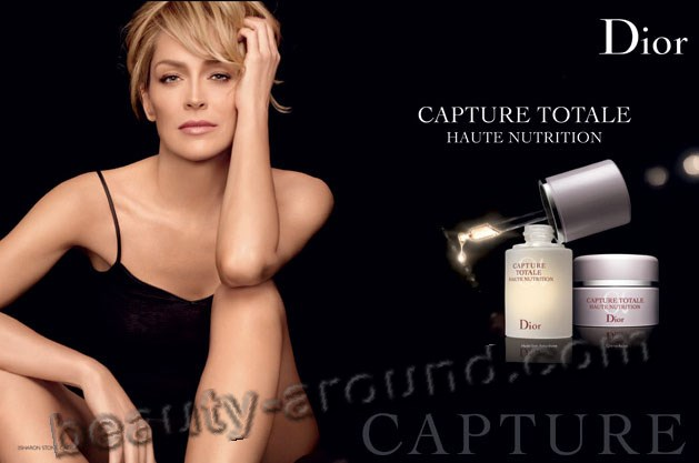 Christian Dior present sharon stone photo