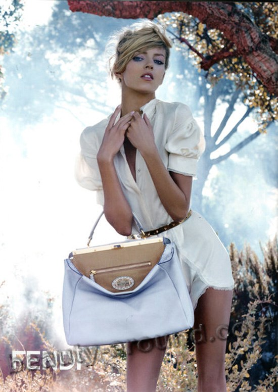 Fendi oficial face of Anja Rubik photo