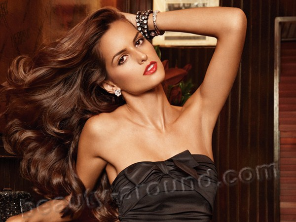 Maria Izabel Goulart Dourado famous beatiful top model of Brazil