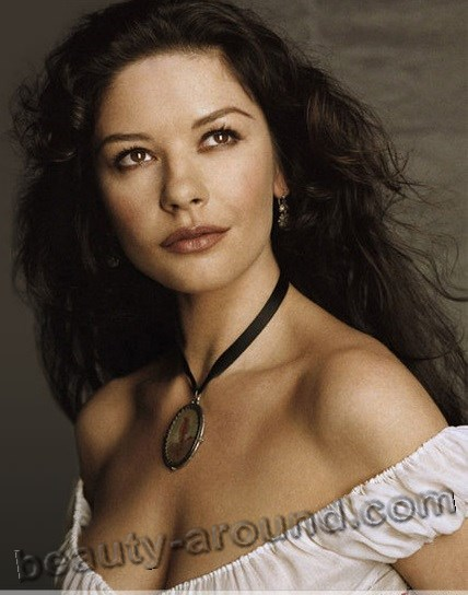 Beautiful British Women Dame Catherine Zeta-Jones, British actress