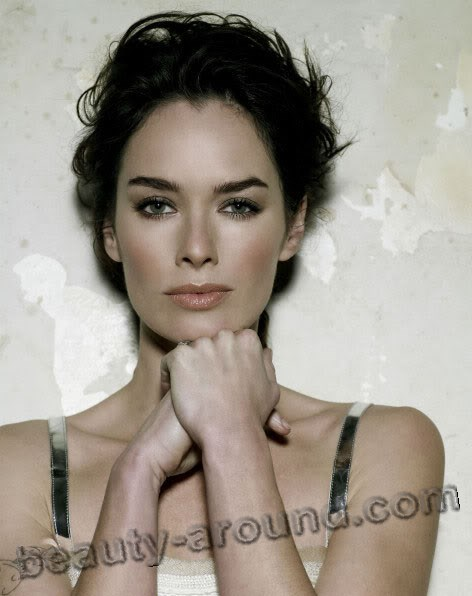 Beautiful British Women Lena Headey Btitish fil actress