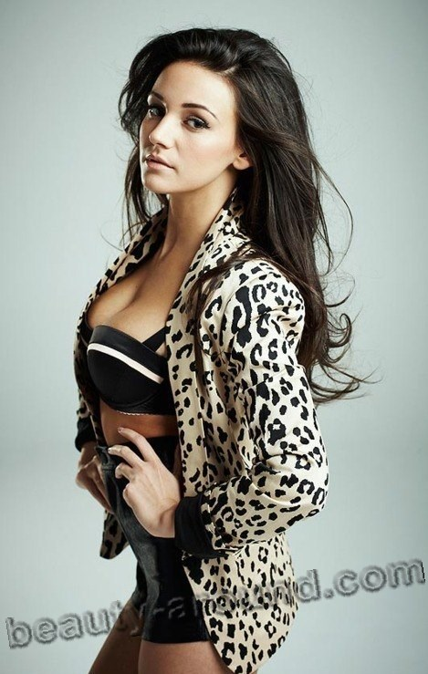 Beautiful British Women Michelle Keegan - British actress and model