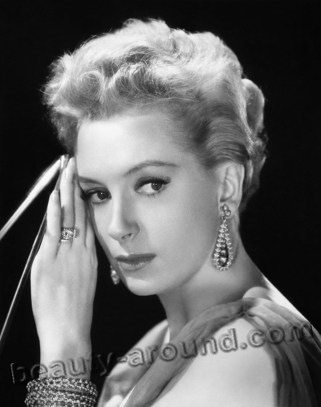 Beautiful British Women Deborah Kerr, British actress