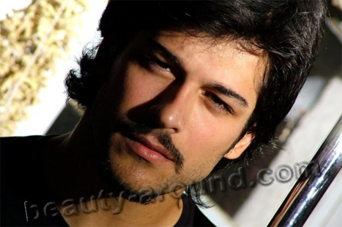 Turkish actor Burak Ozcivit photo